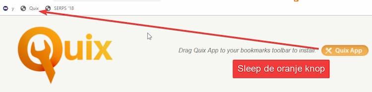 Zo installeer je een bookmarklet in Google Chrome.